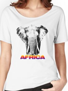 africa elephants Women's Relaxed Fit T-Shirt