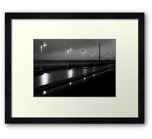 Bridlington Dusk Framed Print