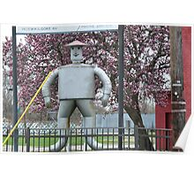 The Tin Man and the Tulip Tree Poster