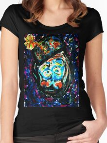 The Unhappy Clown Women's Fitted Scoop T-Shirt
