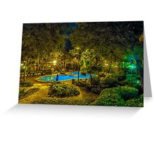 Port Orleans Riverside Greeting Card