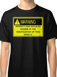 Rat Rod Warning Classic T-Shirt