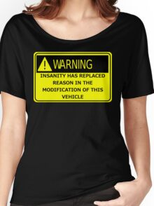 Rat Rod Warning Women's Relaxed Fit T-Shirt