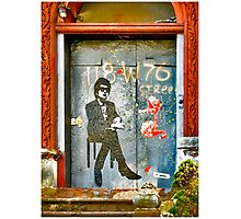 Bob Dylan Looking At Me Photographic Print