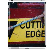 Cutting Edge - Farm Equipment Photograph iPad Case/Skin