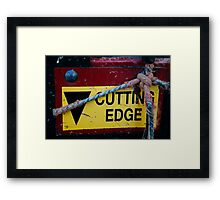Cutting Edge - Farm Equipment Photograph Framed Print