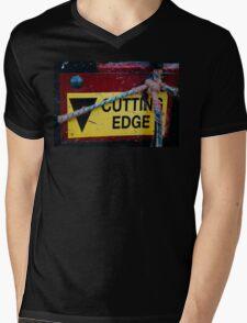 Cutting Edge - Farm Equipment Photograph Mens V-Neck T-Shirt