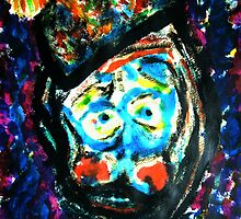 The Unhappy Clown by George Hunter