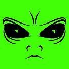 Alien face by chrisbears