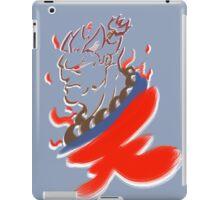 Akuma Paintbrush White iPad Case/Skin