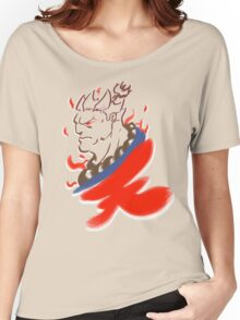 Akuma Paintbrush White Women's Relaxed Fit T-Shirt