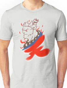Akuma Paintbrush White Unisex T-Shirt