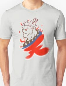 Akuma Paintbrush White T-Shirt
