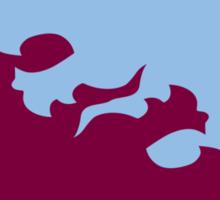 Aston Villa - Yin and Yang Sticker