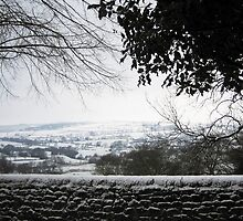 Winter Scene - Foulridge Valley by Nixcy