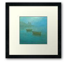 Blue Mist I Framed Print