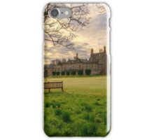 Morning Sunrise over Lauriston Castle iPhone Case/Skin