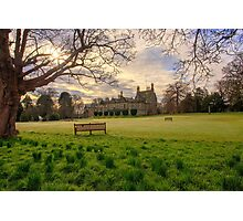 Morning Sunrise over Lauriston Castle Photographic Print