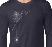 White Spider N Web Long Sleeve T-Shirt