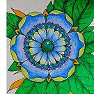 Flower Mandala by WienArtist