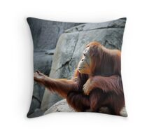 Fire Beard Throw Pillow