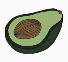 Avocado Sticker by tosojourn