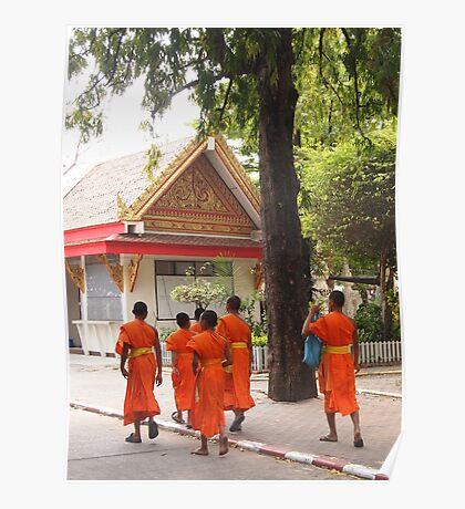 Sisaket Monks Poster