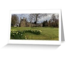 Panoramic View of Lauriston Castle Greeting Card