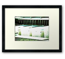 Lost Space Framed Print