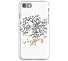 fashion illustration spring girls iPhone Case/Skin
