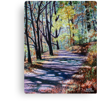 'THE TRAIL FROM CHETOLA TO BASS LAKE' Canvas Print