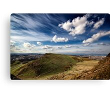 Looking over 'Edinburgh'  Canvas Print