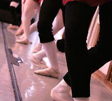 Ballet. Barre. Plié by Ruth Smith