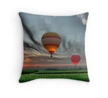 Hot Air! Throw Pillow