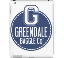 Greendale Baggle Co. iPad Case/Skin