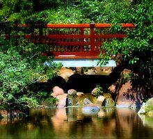 Below the Red Bridge by Donnie Shackleford