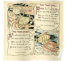 The Baby's Own Aesop by Walter Crane 1908-38 The Two Jars, The Two Crabs Poster