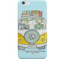 Volkswagen VW Camper Van Couple iPhone Case/Skin