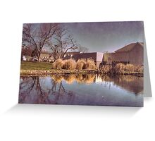 Lower Water Pond Greeting Card