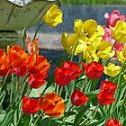 Tulips in Bloom by Susan S. Kline