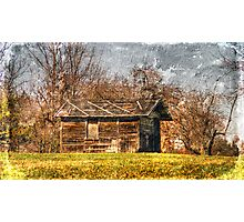 Rundown Shed Photographic Print