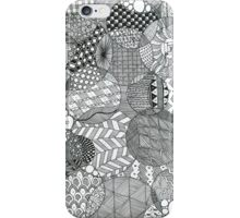 Zentangle Circles iPhone Case/Skin