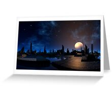 Rising of the Moon Greeting Card