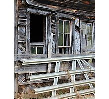 Weathered Old Shed Photographic Print