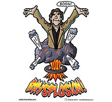 BAYSPLOSION - Directed by Michael Bay Photographic Print