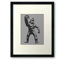 Mechani-Kong Framed Print