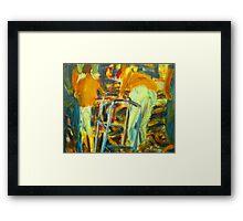 7-11 Framed Print