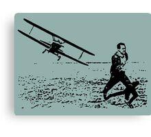 Run, Roger Canvas Print