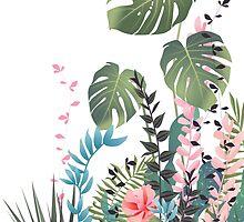 Tropical composition by MartaOlgaKlara