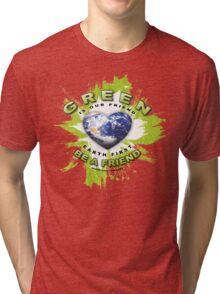 green earth Tri-blend T-Shirt